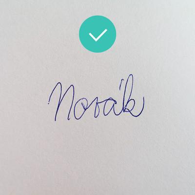 Správný podpis