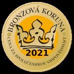 Bronzová koruna - cena za společenskou zodpovědnost
